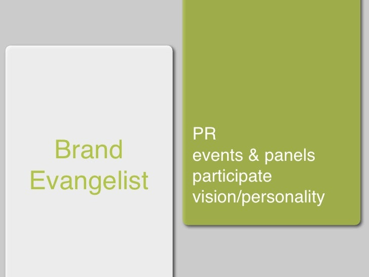 community advocate   empathizers brand evangelist     meaning makers communication        creators gathers input        pa...