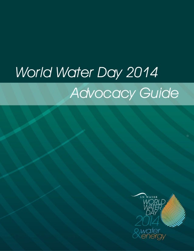 Advocacy Guide World Water Day 2014