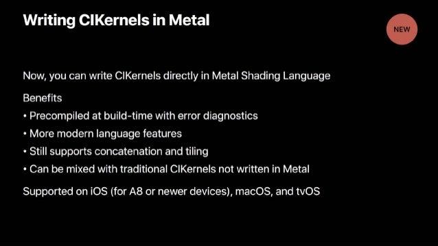 KKBOX WWDC17 Core Image - Daniel Tien