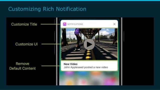 Customizing Rich Notification