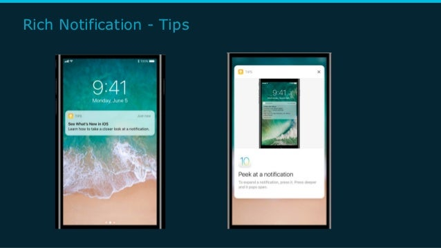 Rich Notification - Tips