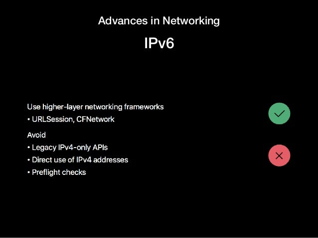 Advances in Networking IPv6