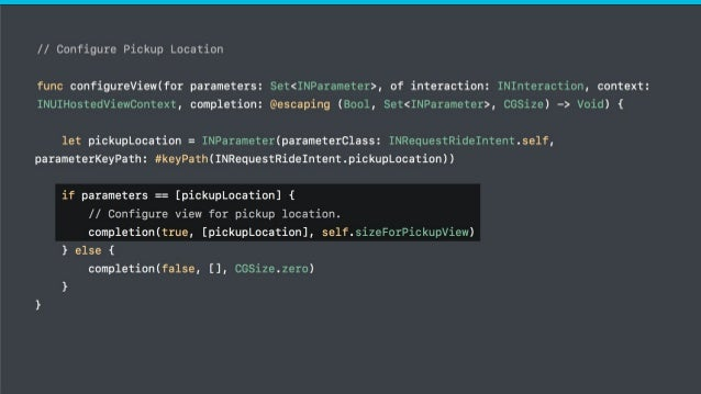 ● Inside your Xcode ● Siri in simulator lets you test on multiple devices ● Automate your tests to check and maintain qual...