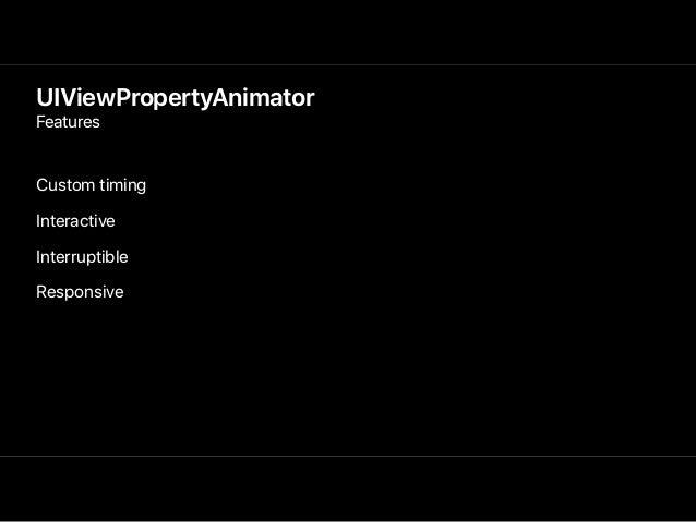 • New Animator Behaviors