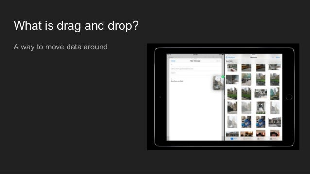 KKBOX WWDC17  UIKit Drag and Drop - Mario Slide 3