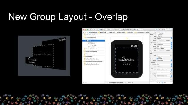 New Group Layout - Overlap