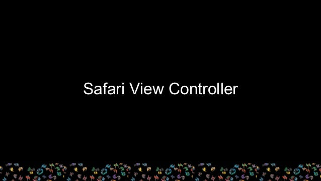 Safari View Controller