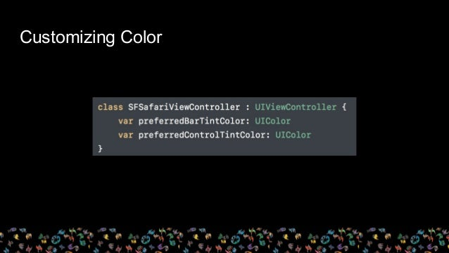 Customizing Color