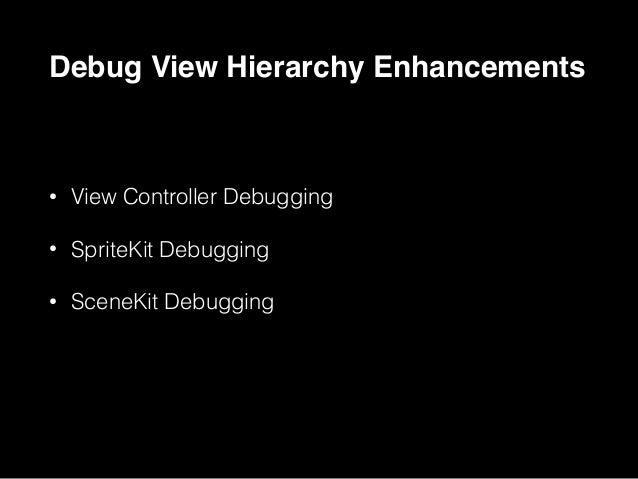 SpriteKit Debugging NEW SpriteKit Debugging