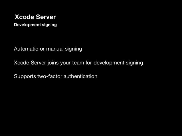 DEVELOPMENT_TEAM to set your team identifier PROVISIONING_PROFILE_SPECIFIER to set your profile name CODE_SIGN_IDENTITY to s...