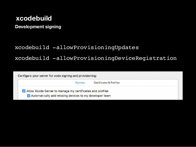 Distributing Development signed   (recommended) Distribution Signed