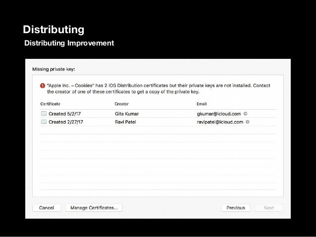 Distribution Signing with Xcode Server