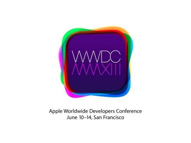 WWDC 2013 Slide 2