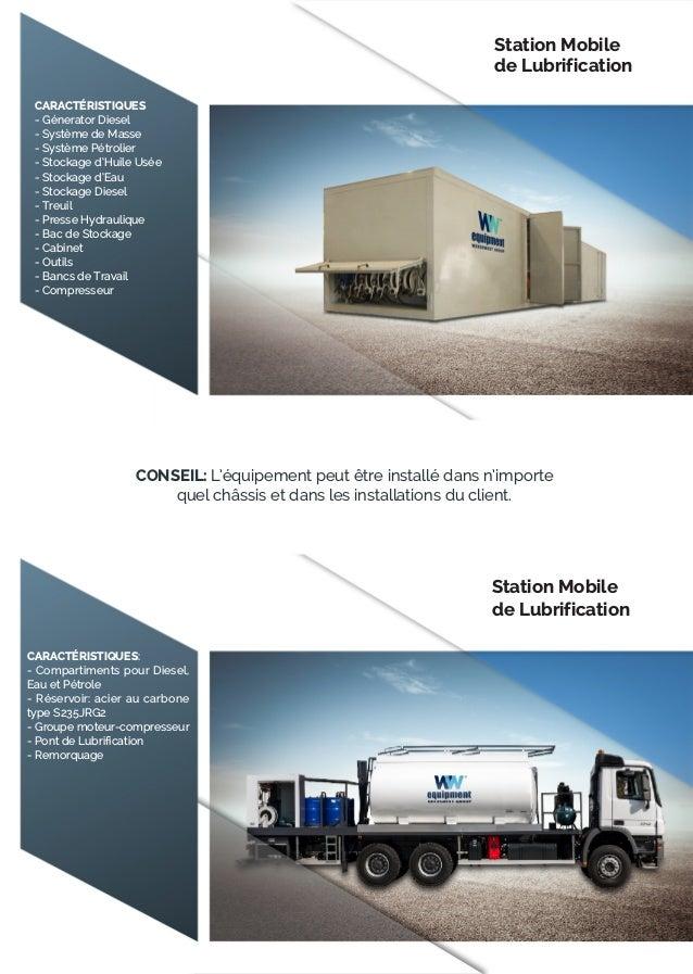 CARACTÉRISTIQUES: - Compartiments pour Diesel, Eau et Pétrole - Réservoir: acier au carbone type S235JRG2 - Groupe moteur-...