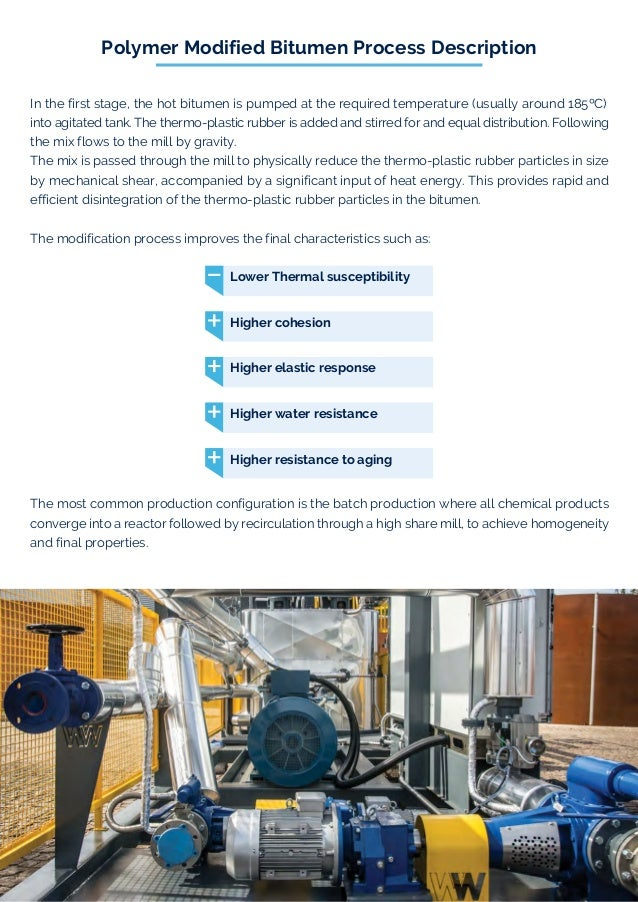iBitumen Emulsion Plant WWEmulpav WW Emulpav Bitumen Emulsion Production Unit is reliable, highly efficient, compact and ful...