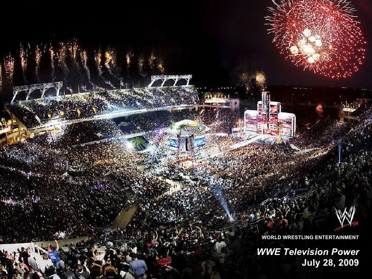 WWE Television Power July 28, 2009 WORLD WRESTLING ENTERTAINMENT