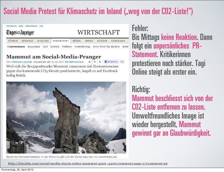 """Social Media Protest für Klimaschutz im Inland (""""weg von der C02-Liste!"""")                                                 ..."""