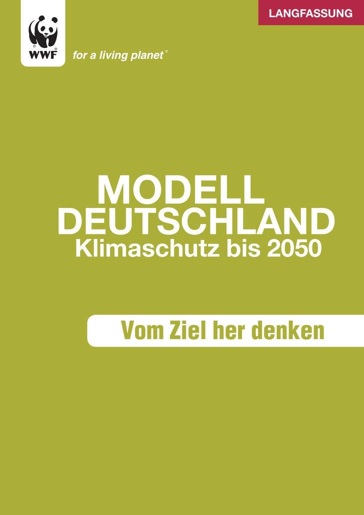 langfassung      Modell deutschland Klimaschutz bis 2050      Vom Ziel her denken