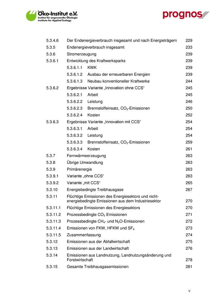 6.5.2     Sektoren Dienstleistungen und Industrie                     364      6.5.3     Verkehrssektor                   ...