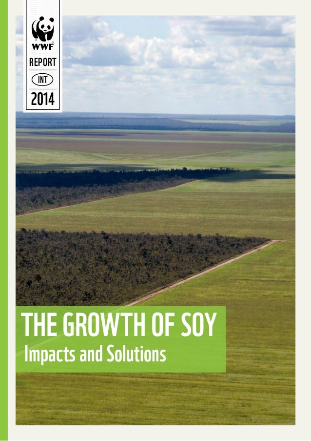 REPORT IN T  2014  The Growth of Soy Impacts and Solutions