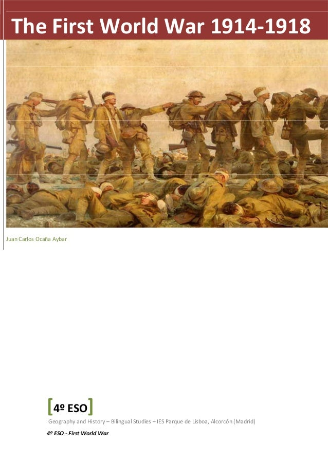 exploring the origins of the first world war Start studying paper 1 -- history - origins of the first world war learn vocabulary, terms, and more with flashcards, games, and other study tools.