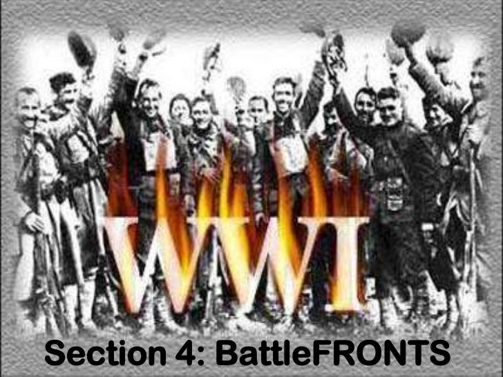 Section 4: BattleFRONTS