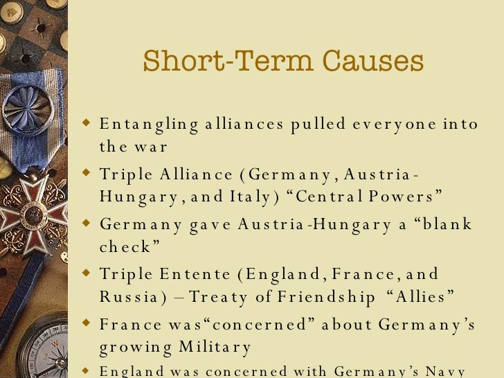 WWI Causes