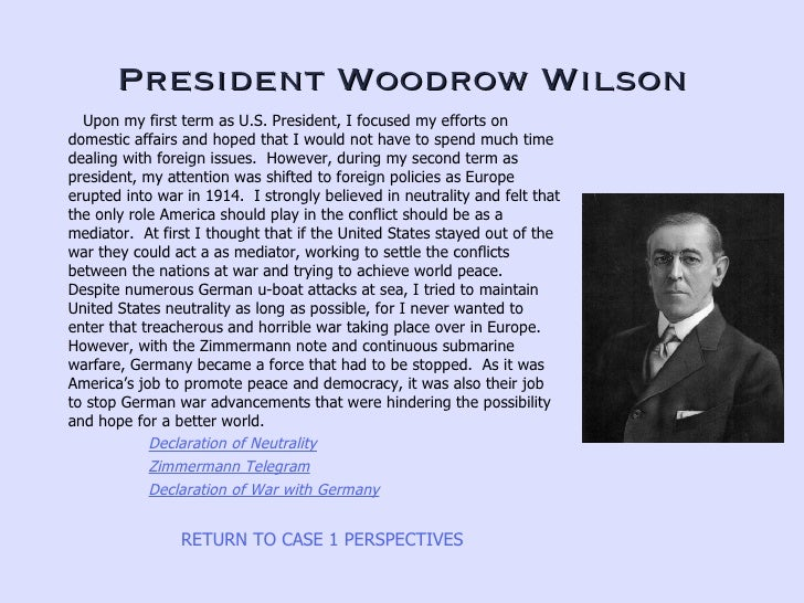 an analysis of the foreign policy and woodrow wilson in the role of the united states Compare fdr's policies to those of woodrow wilson and united states to change its foreign policy from analysis the dominant american aimed role.