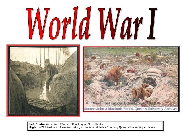 effect of world war 1 When viewed in the light of world war ii, the effects of world wari appear to be very negative while the first world war ended in anostensible.