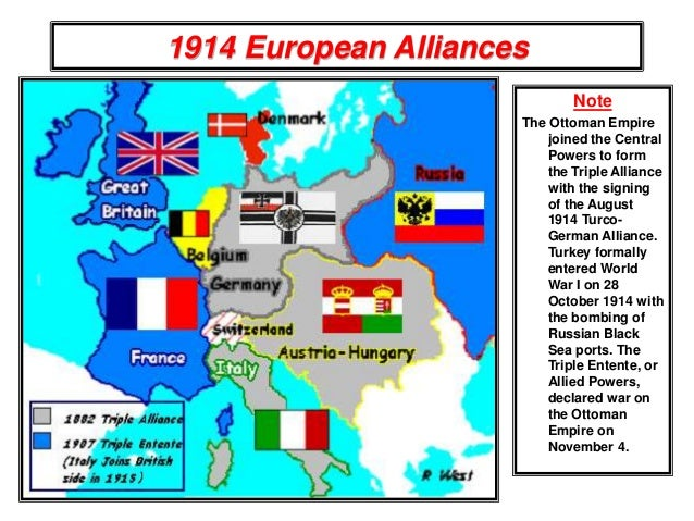 World war 1 causes and effects the balkans 1914 7 1914 european alliances note the ottoman empire publicscrutiny Images