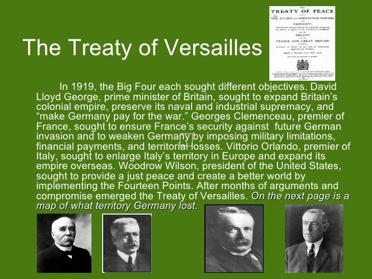 the harmful effects of the treaty of versailles Mostly, if it isn't all, germans detested the fact that their government signed the treaty at all.