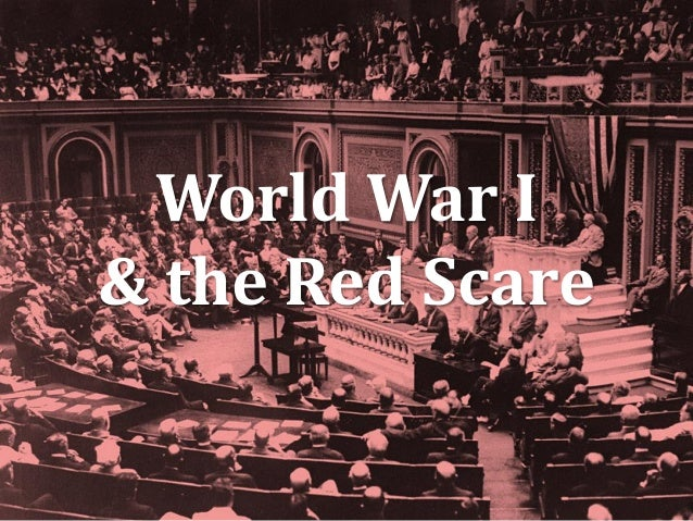 World War I & the Red Scare