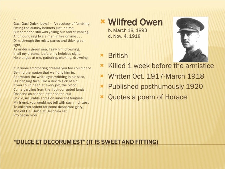 poems of wwi To commemorate the centennial of world war i, we present a selection of poets  who  also be sure to take a look at our sampler of the poetry of world war i.