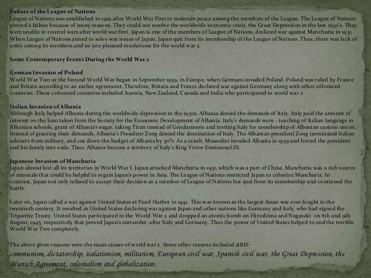 Causes of World War I Essay