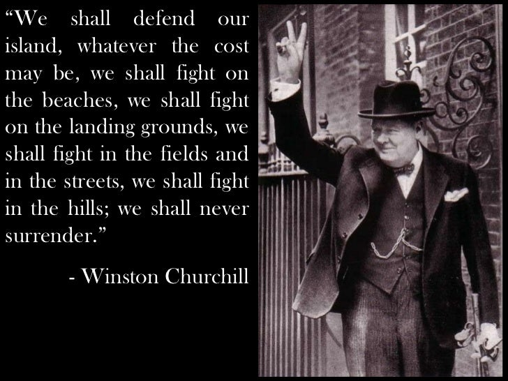 Great speeches: Winston Churchill