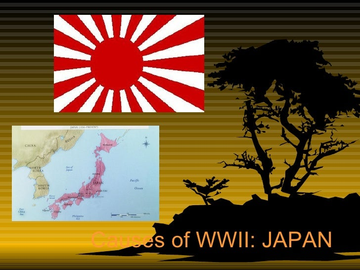 Causes of WWII: JAPAN