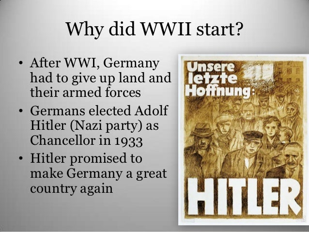 an introduction to the history of germany in world war two [tags: american history, world war two poland was the aggressor in world war 2 - introduction but germany almost won the first world war germany.
