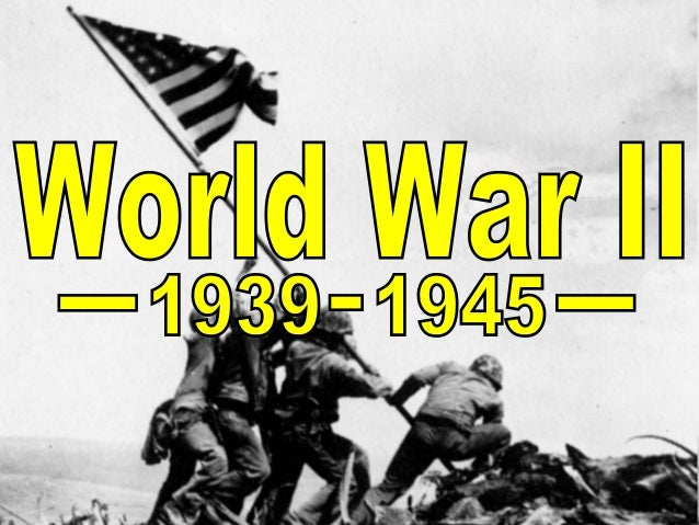 What do you know about WWII?