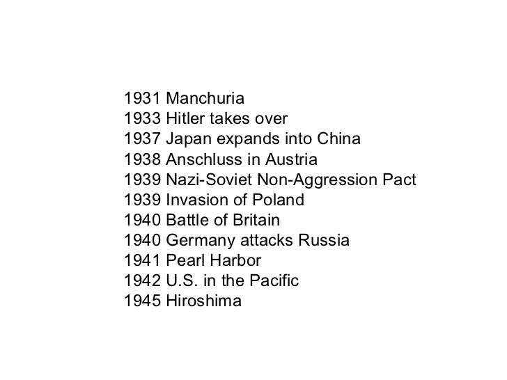 World War II: the Rise of the Superpowers