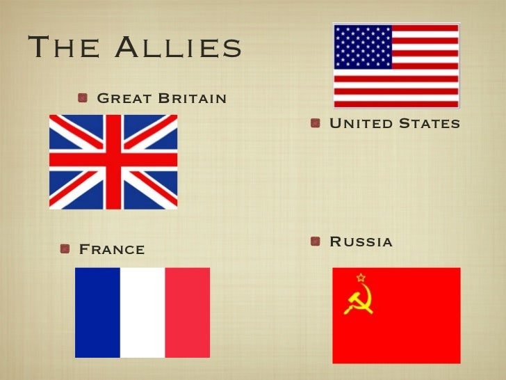 wwii alliances essay The holocaust occurred in the broader context of world war ii  april 6, 1941,  the germans and their allies invaded the soviet union on june 22, 1941, in direct .