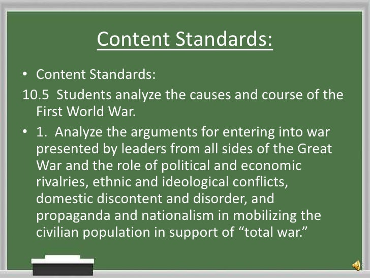 EDSU 531 WWI propaganda narrated slideshow
