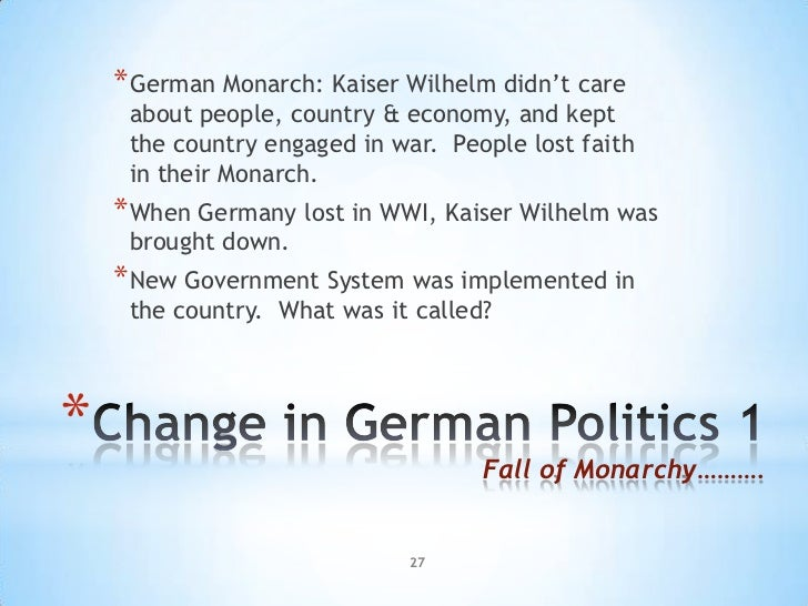 why did the weimer republic collapse Learn and revise about the end of the weimar republic for wjec unit 2 germany in transition with  how and why did the weimar republic collapse between 1929 and.