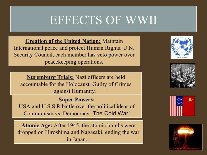 effects of ww2 While serving in the military during the pacific war, african americans  experienced discrimination and segregation but met the challenge and  persevered.