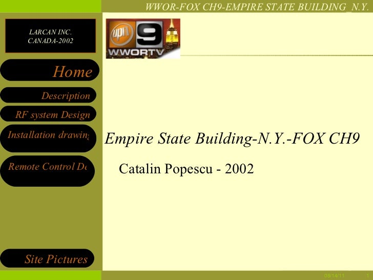 Empire State Building-N.Y.-FOX CH9 Catalin Popescu - 2002