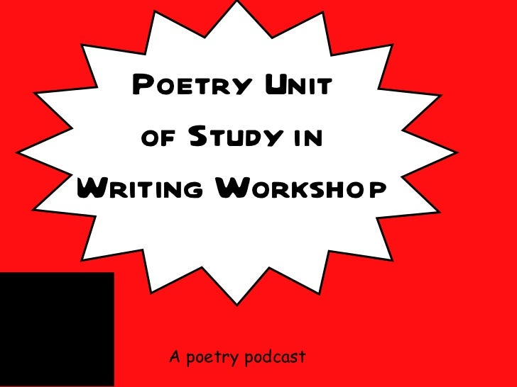 A poetry podcast