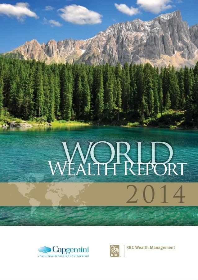 world 2014 worldWealth Report
