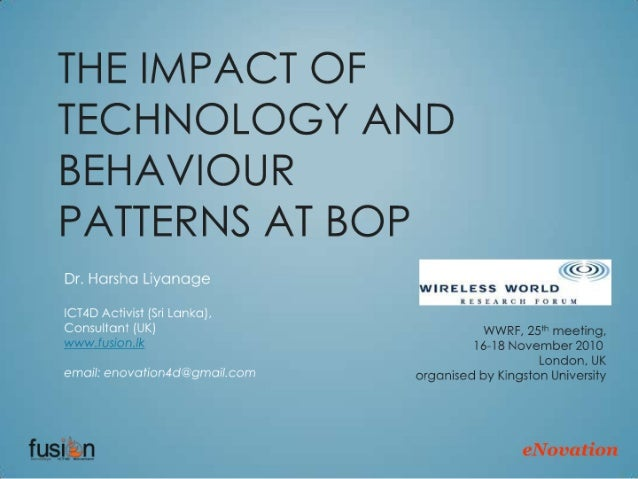 Impact of Technology at Bottom of the Pyramid