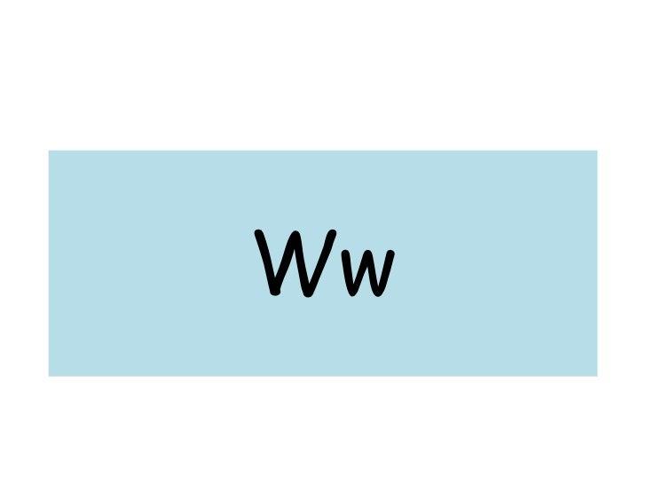 Ww<br />