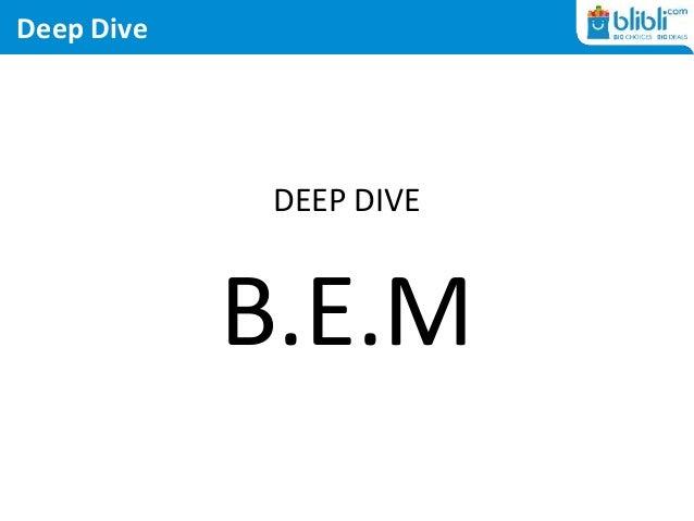 Deep Dive DEEP DIVE B.E.M