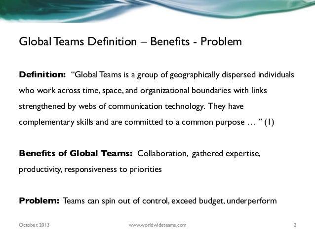 Ten Best Practices for Successful Global Teams Slide 2